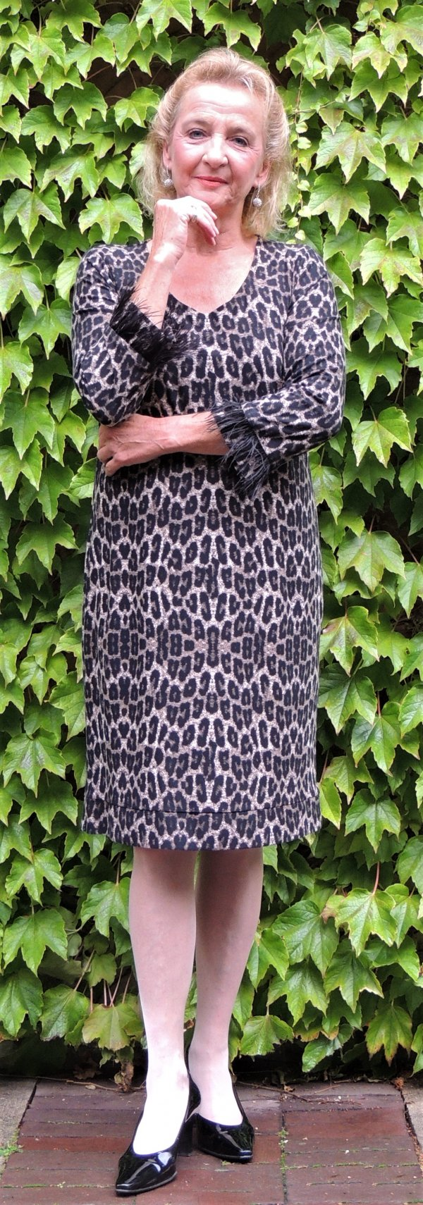 Kleid Batida, Animal-Print