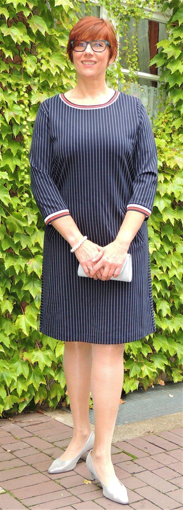 Kleid Via Appia, bequem geschnitten