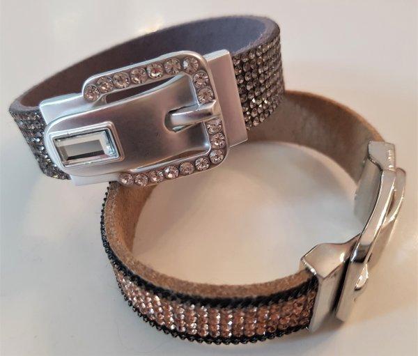 Straß-Armband in Gürtelform