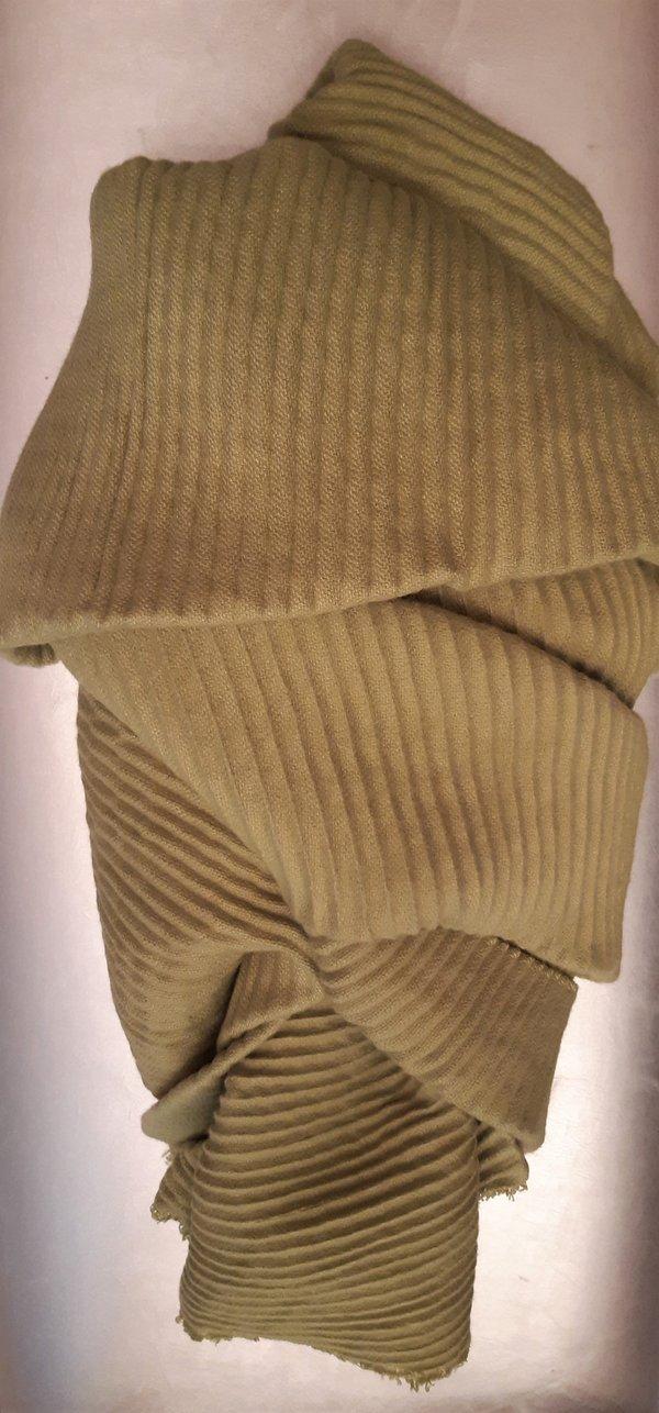 Plissee-Tuch / Schal in 100 % Viscose. Abmessungen 0,65m x 2,00m