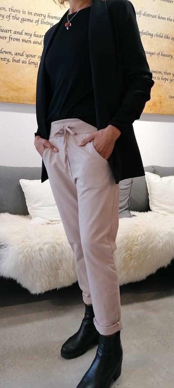 """JoggPant. Bequeme Jersey-Hose (""""Sweatshirtstoff"""") für Zuhause und Draußen. Viele Modefarben (s. 2. Foto)"""