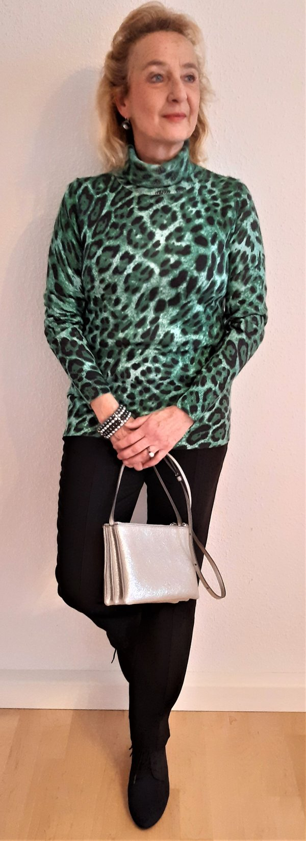 Pullover, Marke Elegance Paris, Leo-Muster