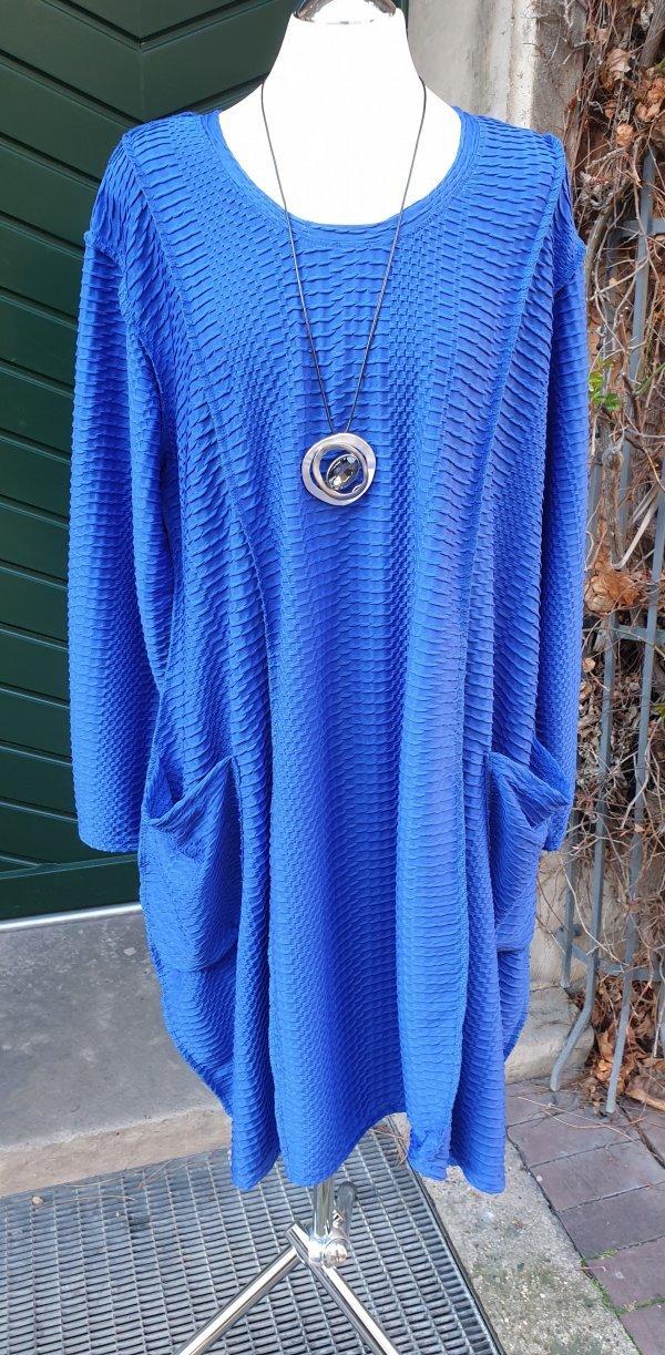 Kleid, Viskose mit Webstruktur, weit geschnitten, mit Taschen